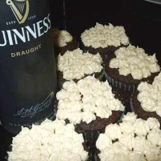 Guinness Cupcakes with Baileys Buttercream