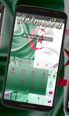 Algeria Keyboard Animated - screenshot