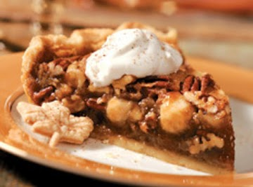 Triple Nut Thanksgiving Pie Recipe