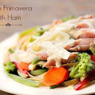 Garden Primavera with Ham Recipe