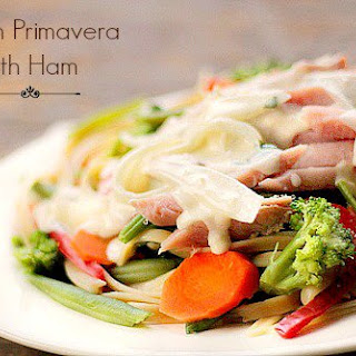 Garden Primavera with Ham