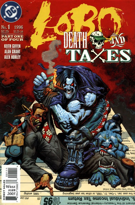 Lobo: Death and Taxes (1996) - complete