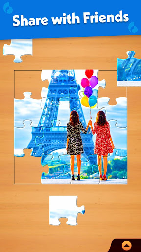 Jigsaw Puzzle: Create Pictures with Wood Pieces screenshot 7