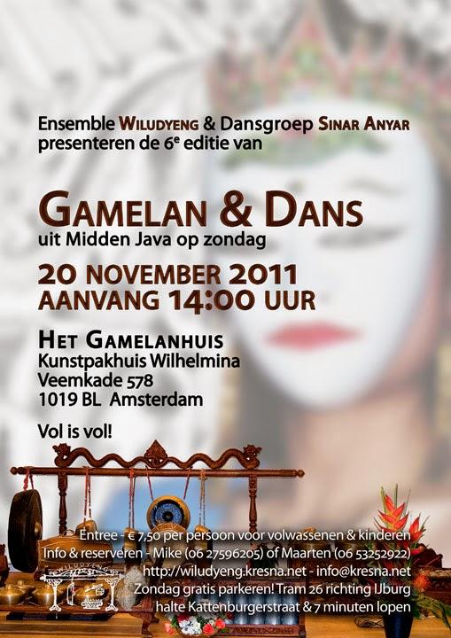 6e Editie Concert Gamelan en Dans