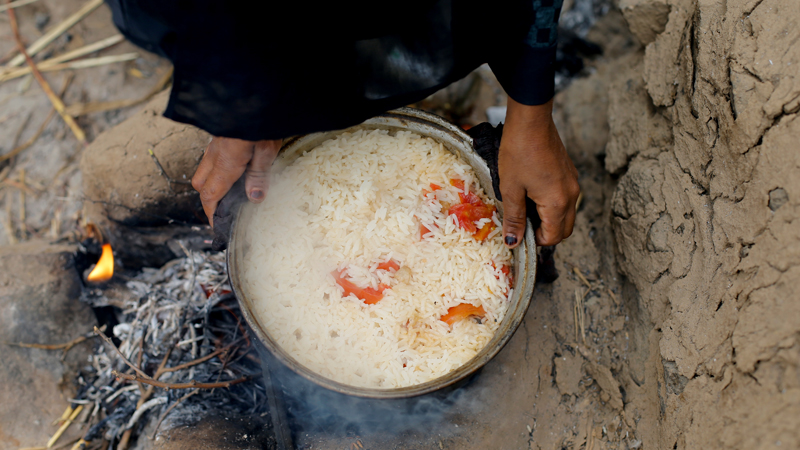 Conflict, COVID-19, climate change send hunger to 5-year high