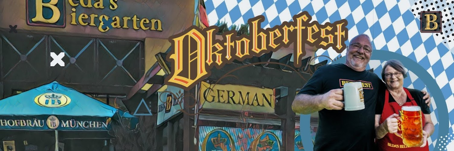 Bedas Biergarten Oktoberfest, Sept 18 (SOLD OUT)