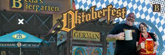 Bedas Biergarten Oktoberfest, Sept 18 (SOLD OUT)
