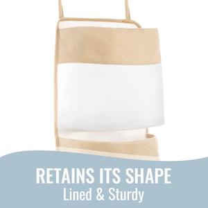 Retains Its Shape - Lined & Sturdy