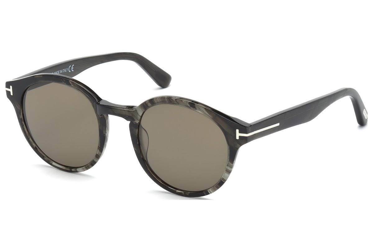 c5c723307c75a Buy Tom Ford Lucho FT0400 C49 20B (grey other   gradient smoke) Sunglasses