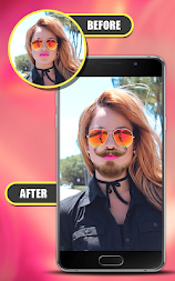Smart Hair Style-Photo Editor APK screenshot thumbnail 4