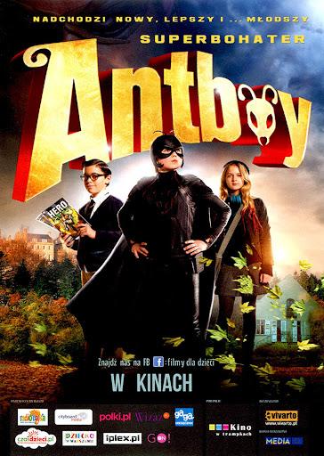 Przód ulotki filmu 'Antboy'