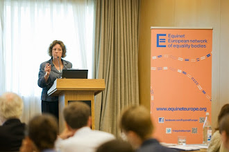 Photo: Susanne Burri on equal pay scope, definitions and case-law (presentation available at http://goo.gl/GiAWK5)  Equinet's Gender Equality Training Event on Equal Pay (18-19 September - Lisbon, Portugal)  http://goo.gl/GiAWK5  © Equinet 2013