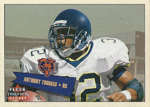 Photo: Anthony Thomas 2001 Fleer Tradition Glossy RC (#0550/2001)