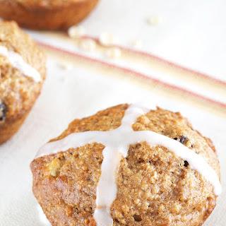 Hot Cross Bun Muffins.