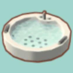 あつ森 お風呂場