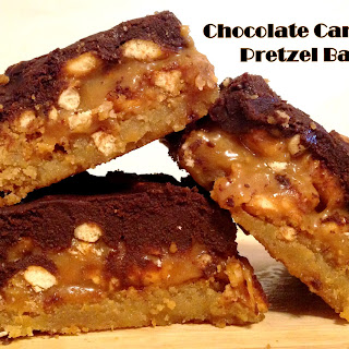 Chocolate Caramel Pretzel Bars