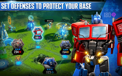 Gry TRANSFORMERS: Forged to Fight (apk) za darmo do pobrania dla Androida / PC/Windows screenshot