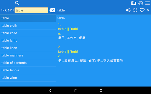 英文 - 简体中文 以及 简体中文 - 英文 字典|玩書籍App免費|玩APPs