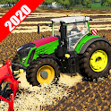 New  Tractor Simulator Drive 3d: Driving 2020 icon