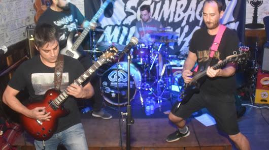El grupo de metal sueco Scumbag Millionaire hace escala en Almería