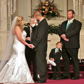 Crying for Happiness by Terry Linton - Wedding Ceremony