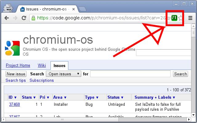 Chromium Iteration Viewer
