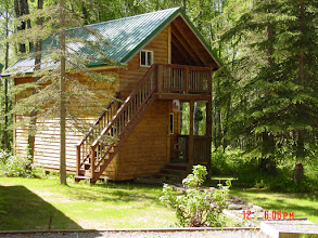 Photo: Cabin 3 outside view.