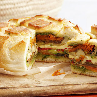 Pressed Picnic Sandwich.