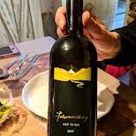 Wine at Genuss-Hofladen in Lötschental, Valais, Switzerland