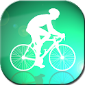 exclo GPS Cycling bicycle icon