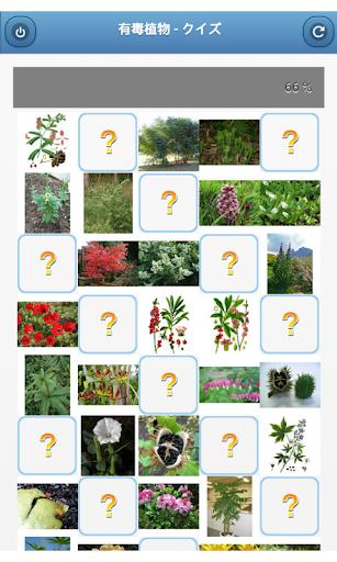 有毒植物 - クイズ