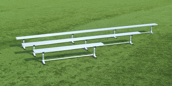 All Alluminum Bench without Backrest