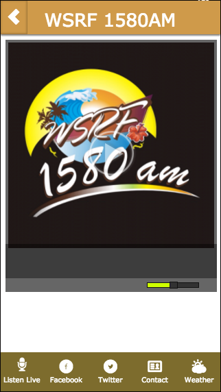 WSRF 1580AM- screenshot