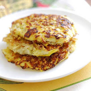 Yellow Squash Fritters.