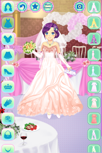Anime Wedding Dress Up- screenshot thumbnail