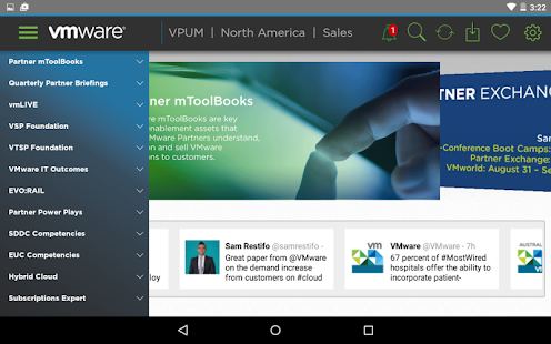 VMware Partner University- screenshot thumbnail