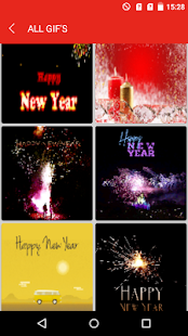 New Year Wishes GIF - náhled