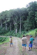 Photo: Taking a hike with Tom our friend from Savu Savu and Sam, Nabouwalu Village