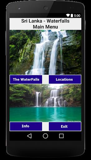 Sri Lanka Waterfalls