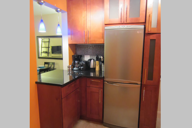 Kitchen at 1 Bedroom Apartment on East 25th Street, Kips Bay