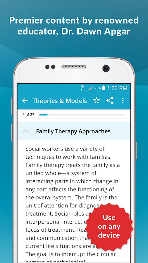 ASWB® MSW Social Work Exam Guide & Practice Test- screenshot