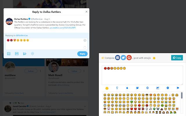 Social Emojis Post