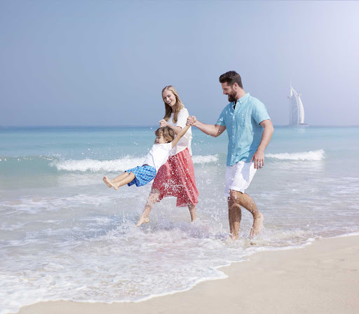 Spend some family at the beach during your time in Dubai.