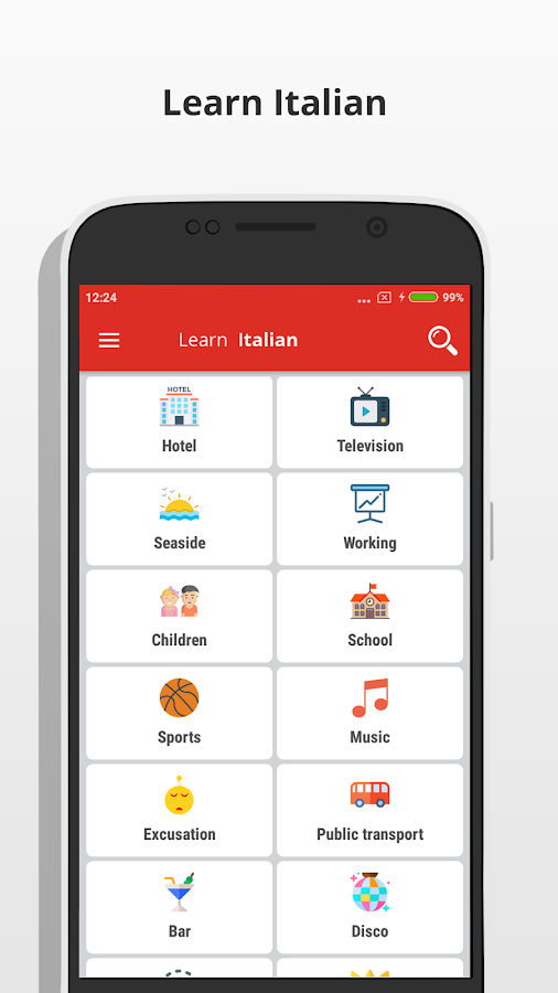 Learn Italian Language- screenshot
