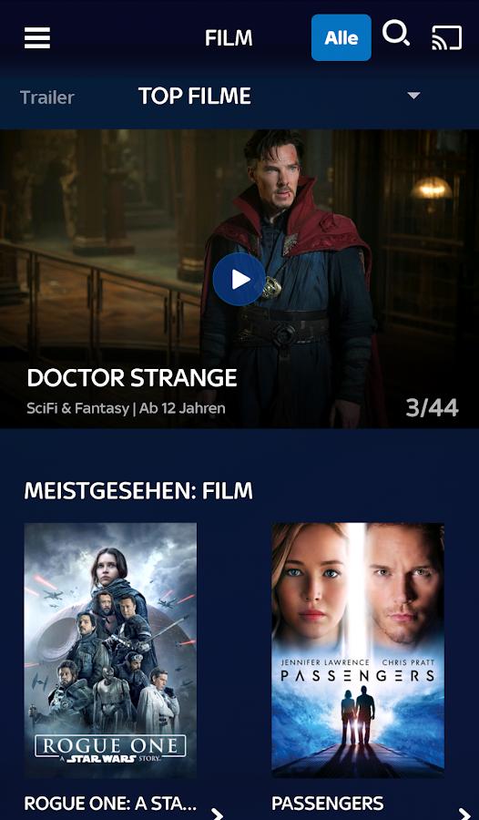 Sky Ticket Neue App