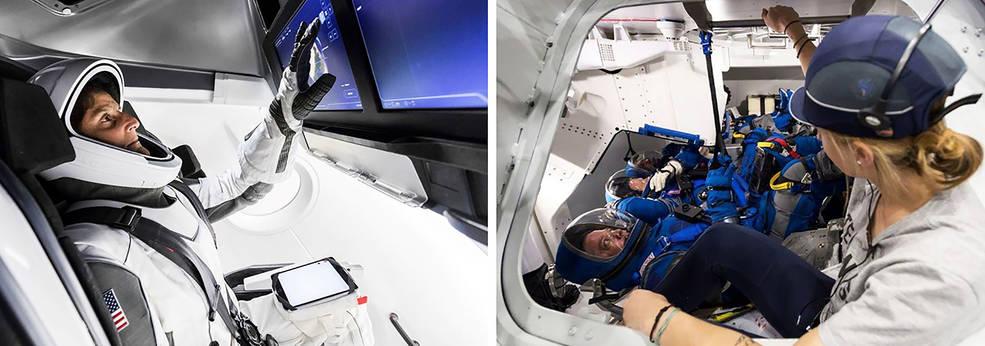 Elon Musk Reveals New SpaceX Passenger Ship, Astronaut ...