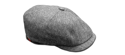 casquette made in france barnstormer dassault tweed grise