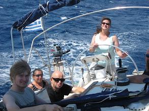 Photo: Tanja ja kumppanit, Kreikka 2012.