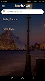TalkTravel- screenshot thumbnail