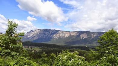 Photo: Ein Blick zurück auf die Villacher Alpe.